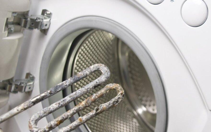 Dėl skalbimo mašinos – nervai, rūpesčiai ir nuostoliai