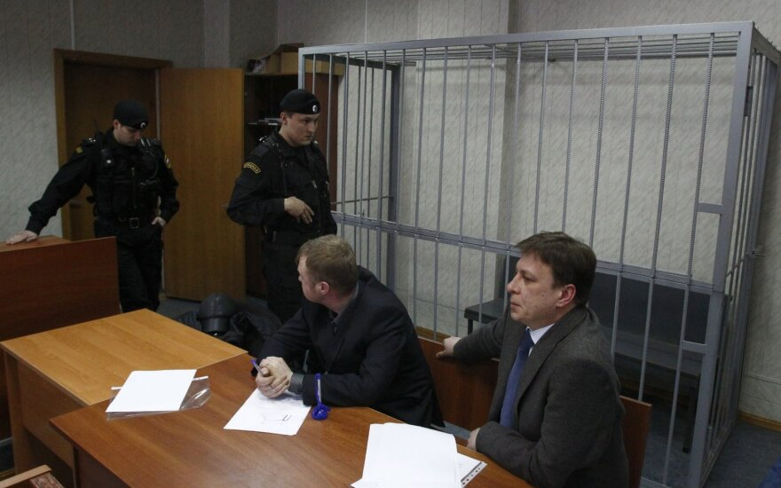 Magnitskio byla, Magnitskio advokatai sėdi teismo salėje
