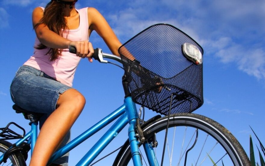 Sekmadienį - dviračių žygis Verkių regioniniame parke