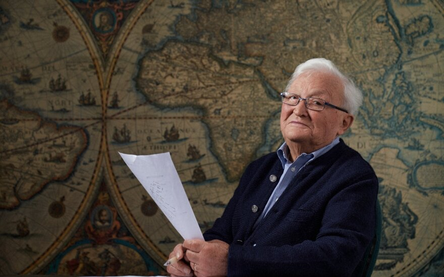 Algimantas Čekuolis /Foto: Mantas Gudzinavičius
