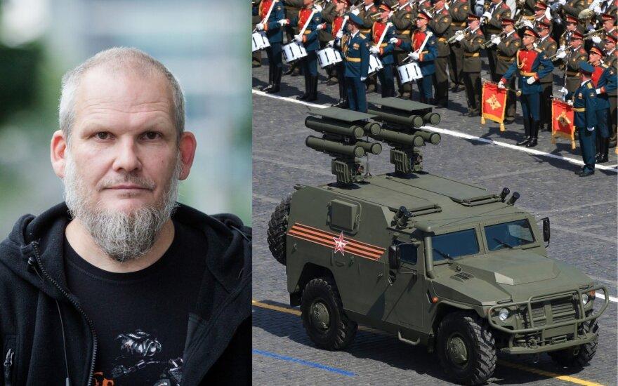 Romas Sadauskas-Kvietkevičius, Victory Day parade in Russia