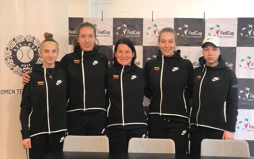 Lietuvos moterų teniso rinktinė / FOTO: tennis.lt
