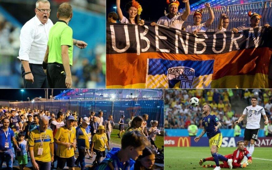 Pasaulio čempionų atsiprašymo sulaukę švedai vis tiek turi dėl ko širsti
