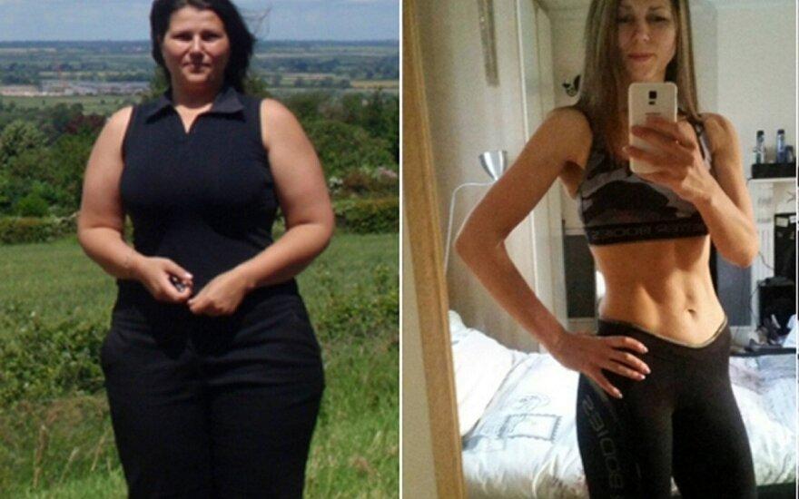 Neatpažįstamai pasikeitusi Kristina: greitos dietos yra akių dūmimas