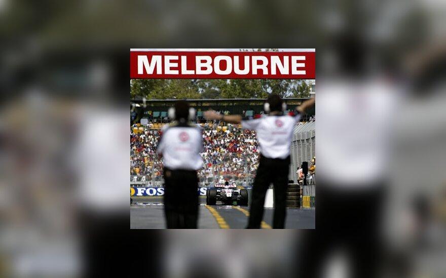 """Formulės-1"" lenktynės Melburne"