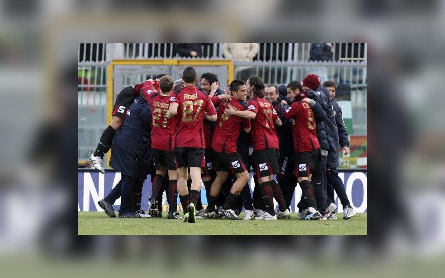 """T.Danilevičiaus """"Livorno"""" kontrolinėse rungtynėse įveikė Belgijos čempioną"""