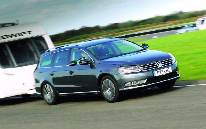 """Britanijos """"Towcar Awards 2011"""" laureatas – """"VW Passat"""""""