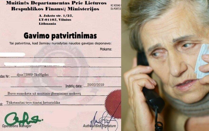 Lietuvos muitinė įspėja: sukčiai sugalvojo naują būdą, kaip išvilioti pinigus