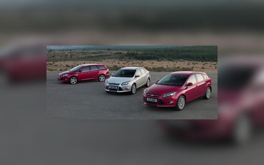 Ford Focus modelių gama