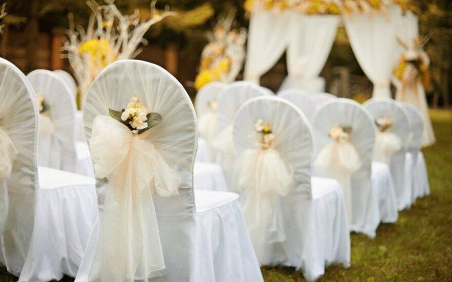 Per kiek laiko galima suplanuoti vestuves?