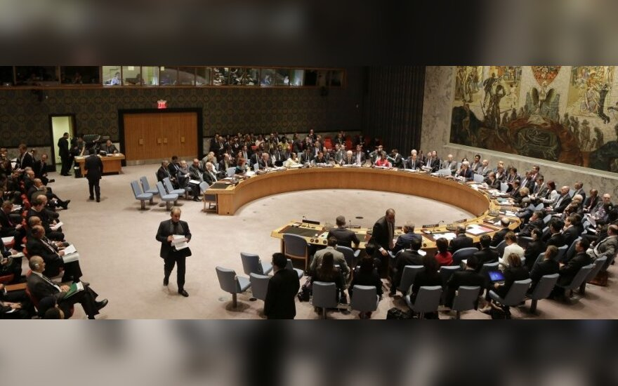 Lithuania calls UN Security Council meeting on Crimea