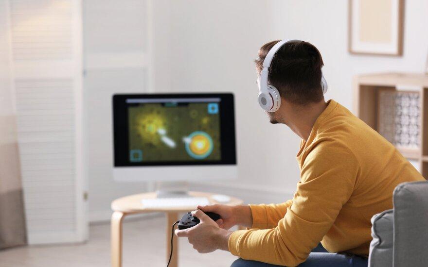 Kompiuterinių žaidimų kambarys