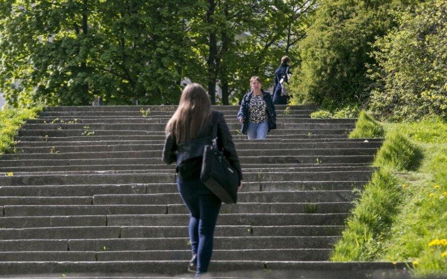 Populiariausi Vilniaus laiptai – iš antkapių, vestuvės – ant liuteronų kapų