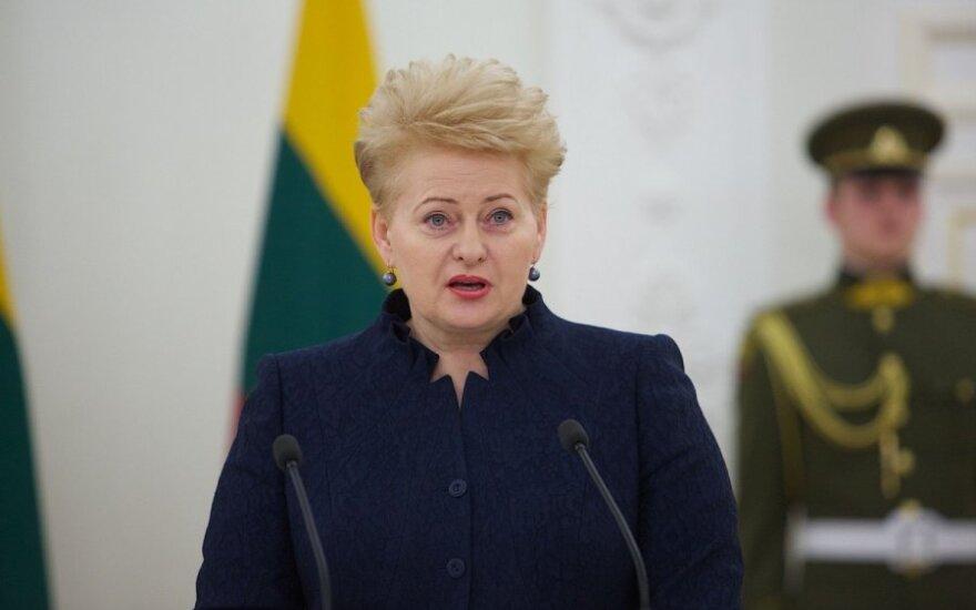 Lithuanian president tops Ukraine's list of international friends