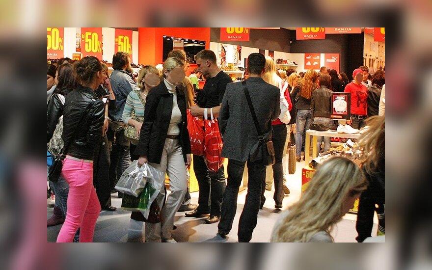 Švęsti į Lietuvą atvykę rusakalbiai pildė prekybininkų kišenes