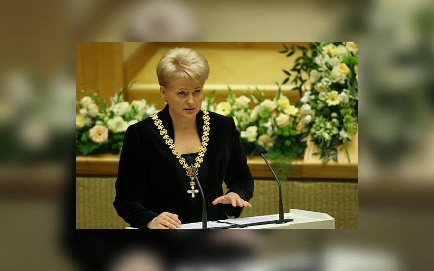 D.Grybauskaitės inauguracija