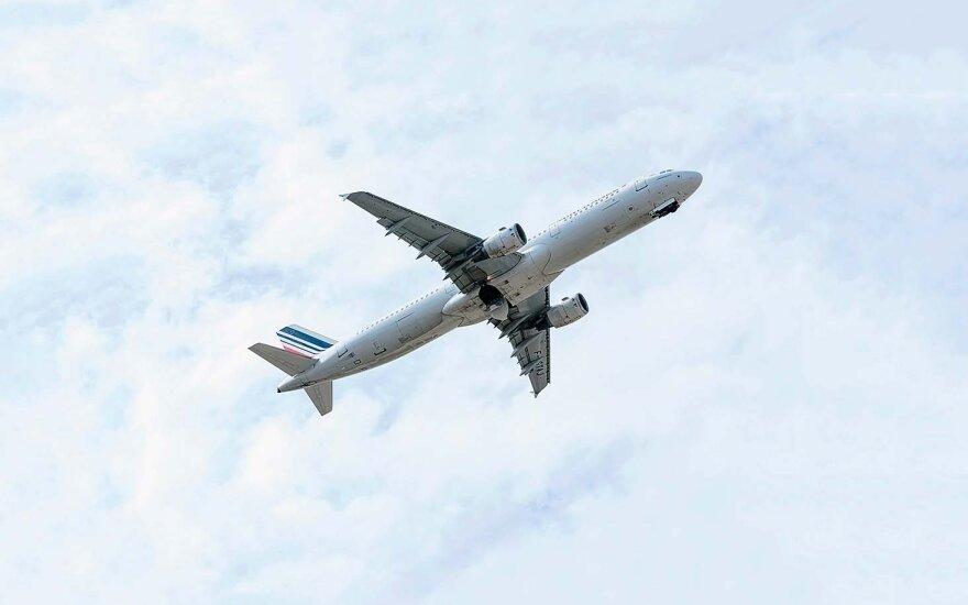 Ekspertas paaiškino, kodėl lėktuvai dažomi balta spalva