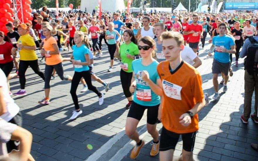 Septynis maratonus nubėgęs vyras – apie tai, kaip pradėjo bėgioti
