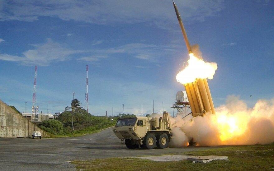 JAV sėkmingai išbandė priešraketinę sistemą THAAD
