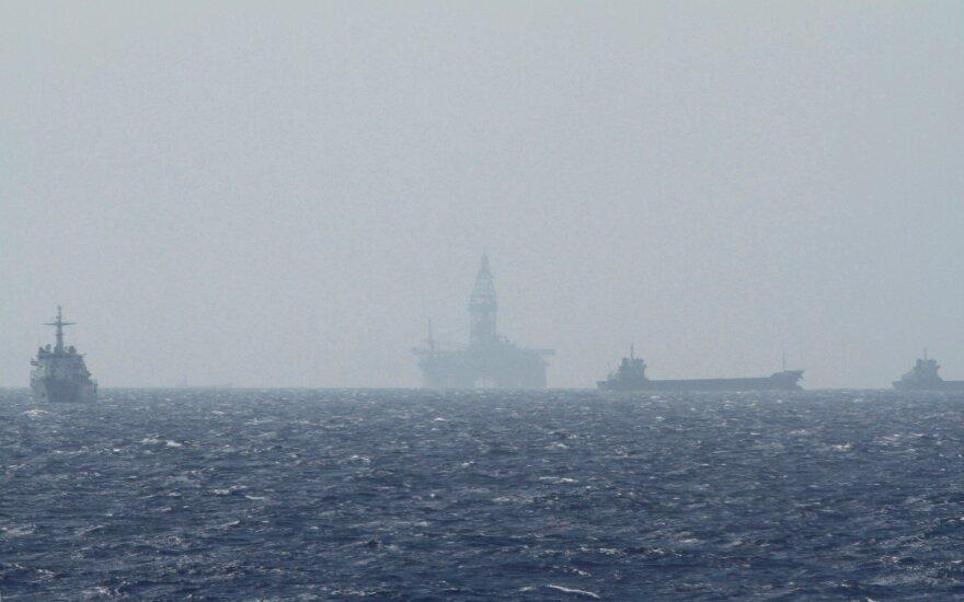 Kinija pareiškė protestą dėl JAV karo laivo Pietų Kinijos jūroje