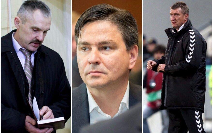 Vacys Lekevičius, Romualdas Jonaitis, Igoris Pankratjevas
