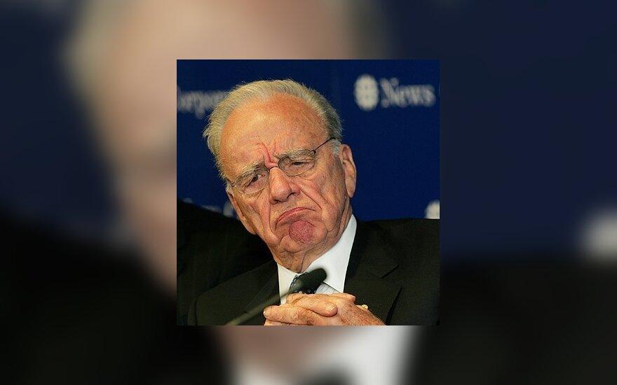 """R.Murdochas gali blokuoti """"Google"""" paiešką"""