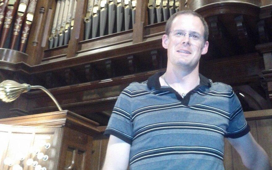 Šv. Jonų bažnyčioje koncertą surengs australų vargonininkas