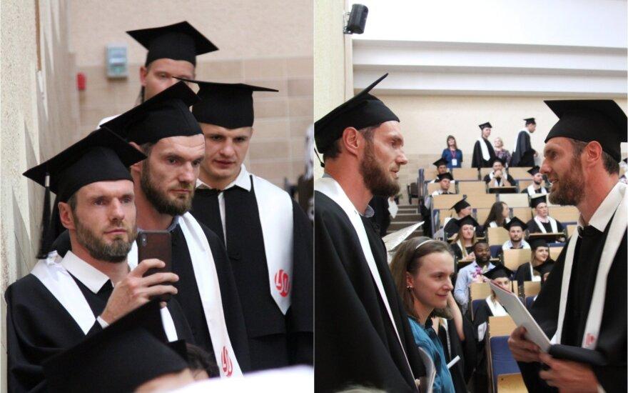 Kšištofas ir Darjušas Lavrinovičiai / Foto: Lietuvos sporto universitetas