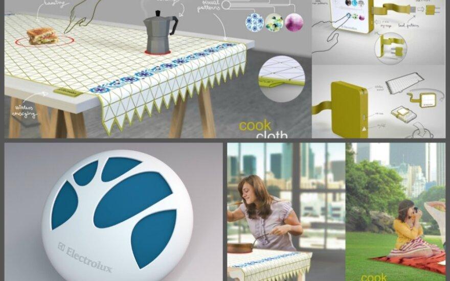 Lietuvių dizaino idėjos – staltiesė-kaitlentė ir oro valytuvas-sagė - užkopė iki pasaulio geriausių 50-uko