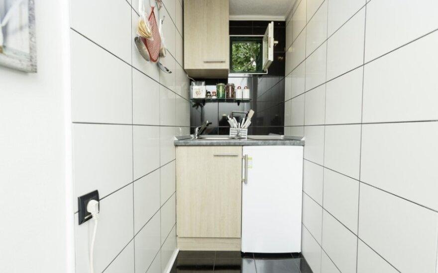 Praktiniai patarimai: kaip viską sutalpinti mažoje virtuvėje