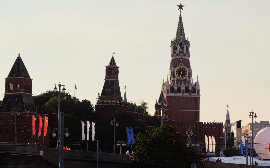 Kremlius: naujos sankcijos JAV ir Rusijos santykius perkelia į žemesnį lygį