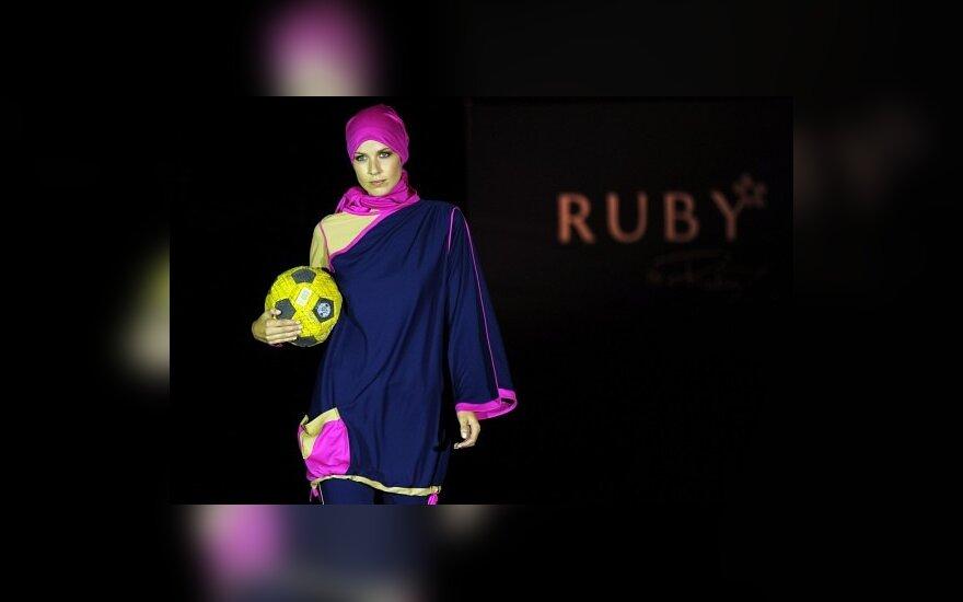 Sportiniai kostiumai musulmonėms. Rabia Z