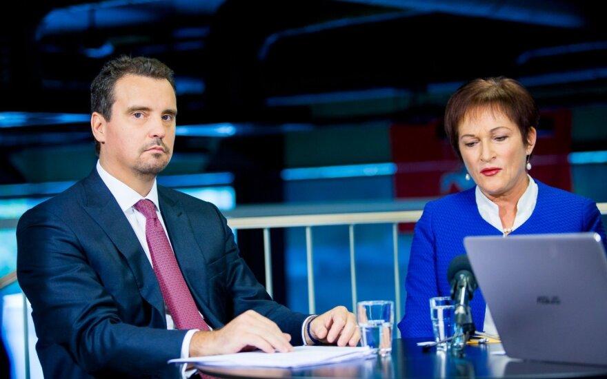 Aivaras Abromavičius ir Birutė Vėsaitė