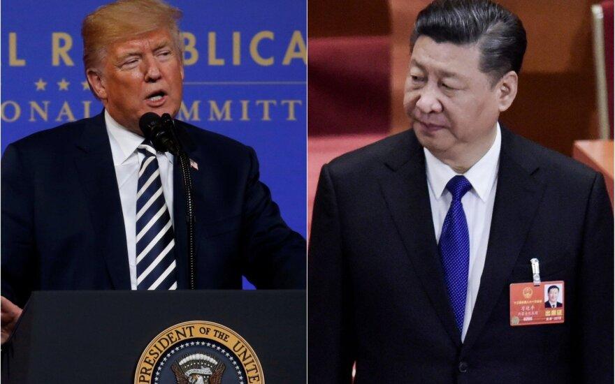 Kinijos prezidentas: pasauliniame prekybos kare laimėtojų nebus