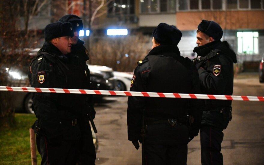 Maskvoje nužudytas aukštas policijos pareigūnas