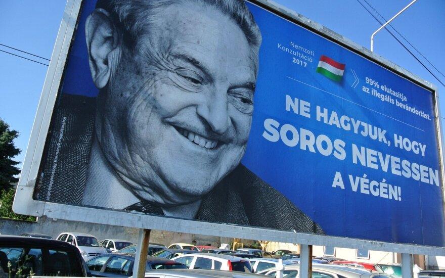 Soroso fondas traukiasi iš Vengrijos