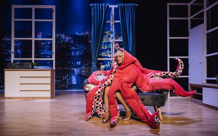 Aktorius Andrius Bialobžeskis gimtadienį pasitiko scenoje su spektaklio premjera