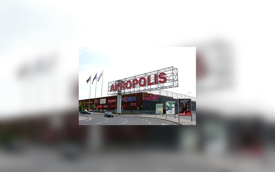 """""""Akropolis"""" iš valstybės siekia prisiteisti 20 mln. Lt"""