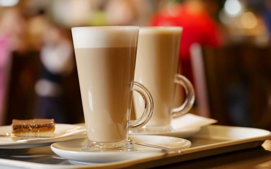 Kava su sojos pienu