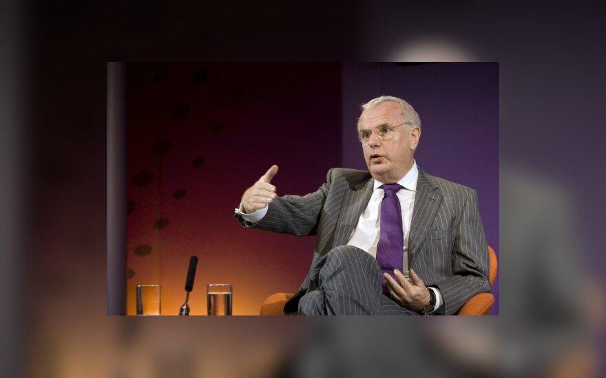 P.Mynersas: bankai nepasimokė iš kreditų krizės