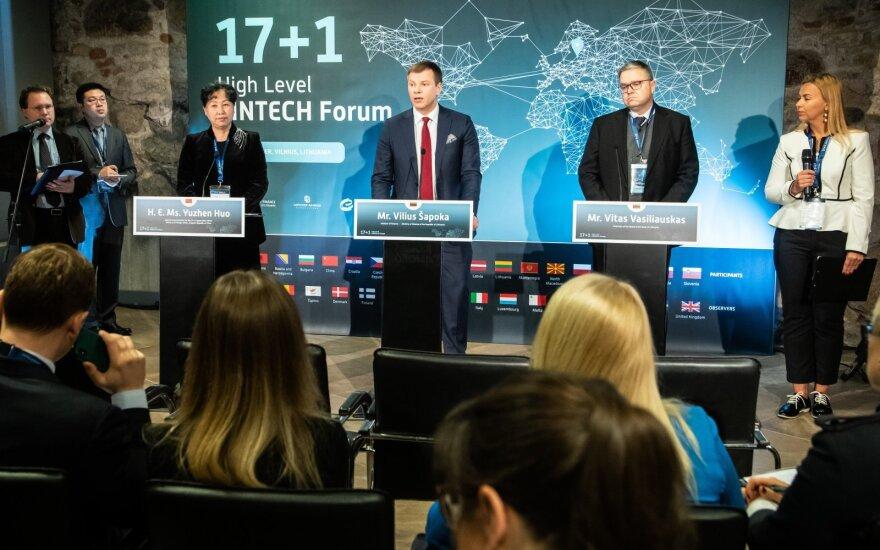 Vilius Šapoka 17+1 Fintech forume