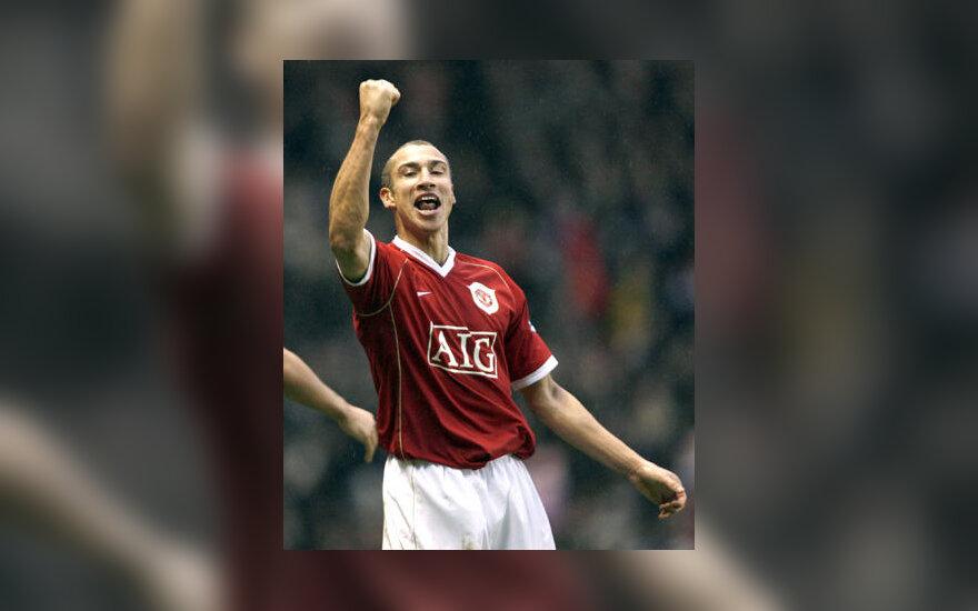 "Henrikas Larssonas (""Manchester United"")"