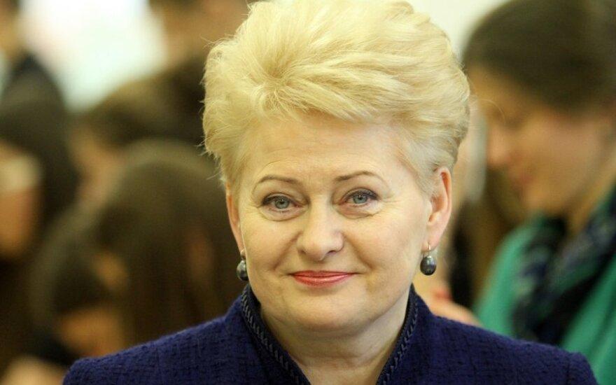 D. Grybauskaitė pozicijos nekeičia