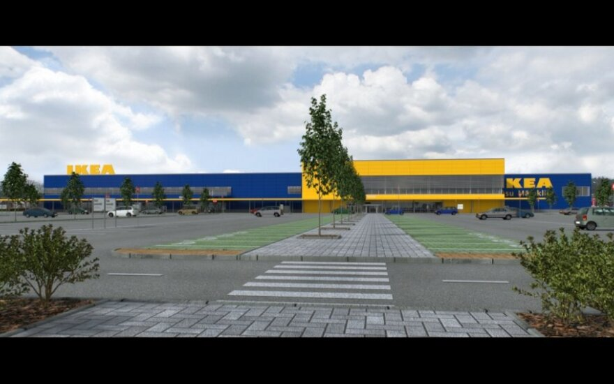 IKEA project in Riga