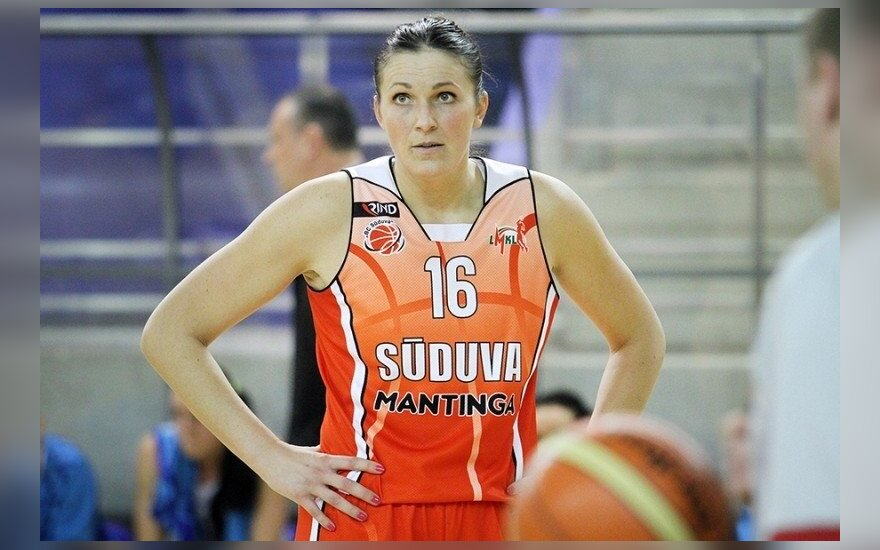 "Iveta Šalkauskė (""Hoptrans-Sirenų"" klubo nuotr.)"