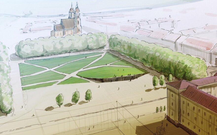 Pradedamas rengti Lukiškių aikštės memorialo idėjos įgyvendinimo techninis projektas