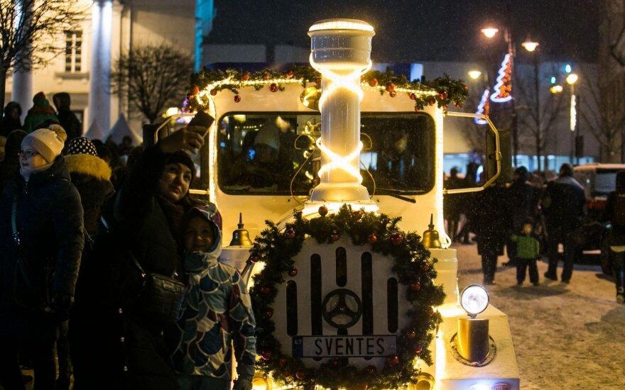 Keičiasi Kalėdų traukinuko sostinėje trasa