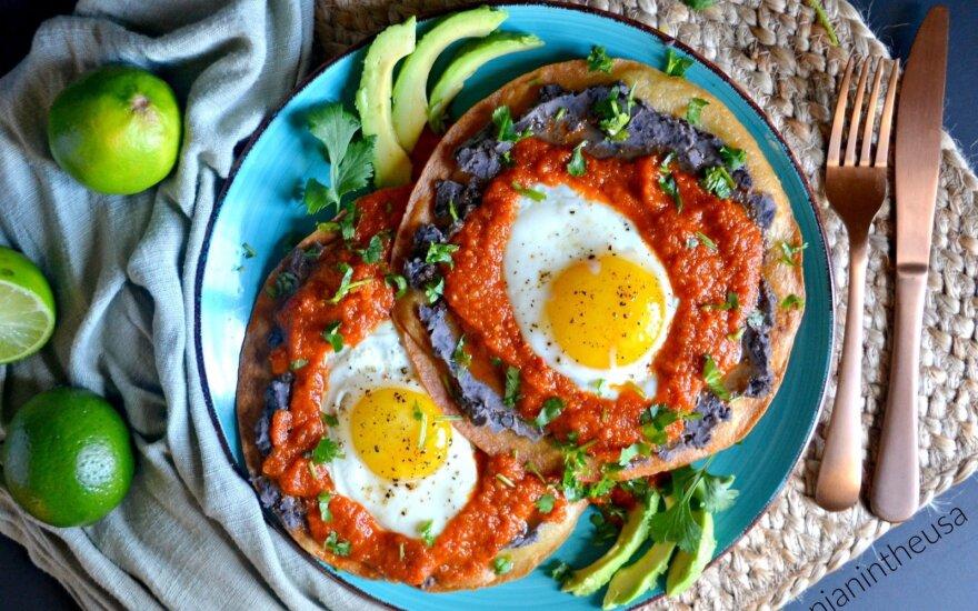 Meksikietiški pusryčiai