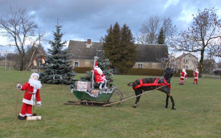 Lietuvos miestelis, kuris labai laukia Kalėdų