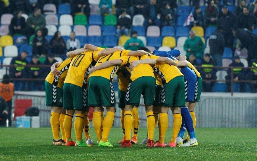 Lietuvos rinktinė UEFA Tautų lygą pradės maču Vilniuje su Serbija